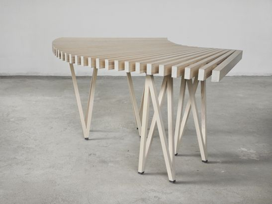 slideable table the second telling Elisabeth Florstedt design